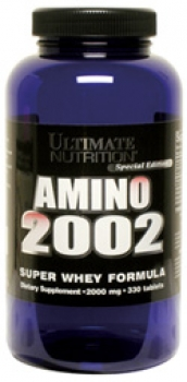 Amino 2002 von Ultimate Nutrition 330 Tabletten à 2000mg