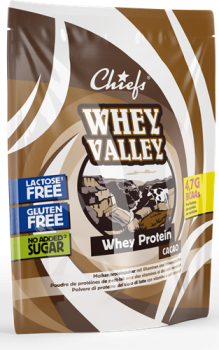Chiefs Whey Valley Whey Protein 450g Schoko