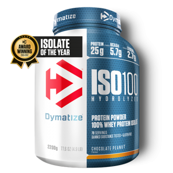 Dymatize ISO 100 Hydrolyzed 2200g Schoko-Erdnuss bei Body World Fitness Shop Basel kaufen