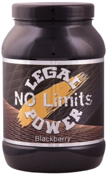 NO Limits Legal Power 800g Blackberry - super erfrischender Geschmack