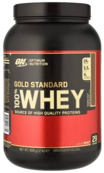 Optimum Nutrition 100% Whey Gold Standard 908g Dose