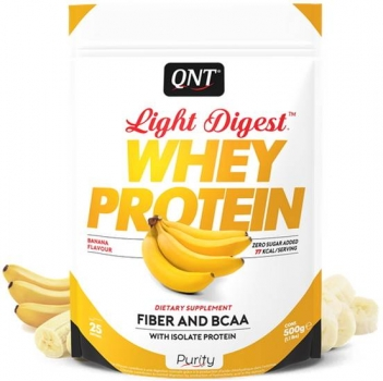 QNT Light Digest Whey Protein Pulver Banane kaufen bei Body World Fitness Shop Basel