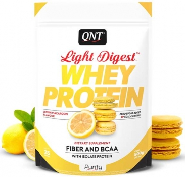 QNT Light Digest Whey Protein Pulver Zitrone kaufen bei Body World Fitness Shop Basel