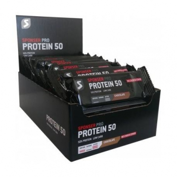 Protein Bar 50 Box 20 Riegel à 70g Schokolade