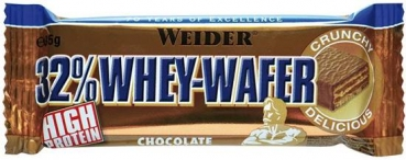 Weider 32% Whey Wafer Protein Riegel