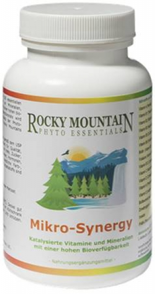 Mikro Synergy Multivitamin Rocky Mountain Phyto Essentials (120 Kapseln)