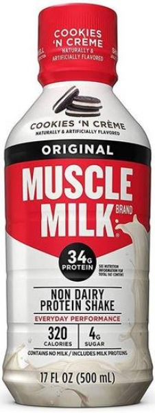 Muscle Milk Protein Shake 500ml Cookies & Cream