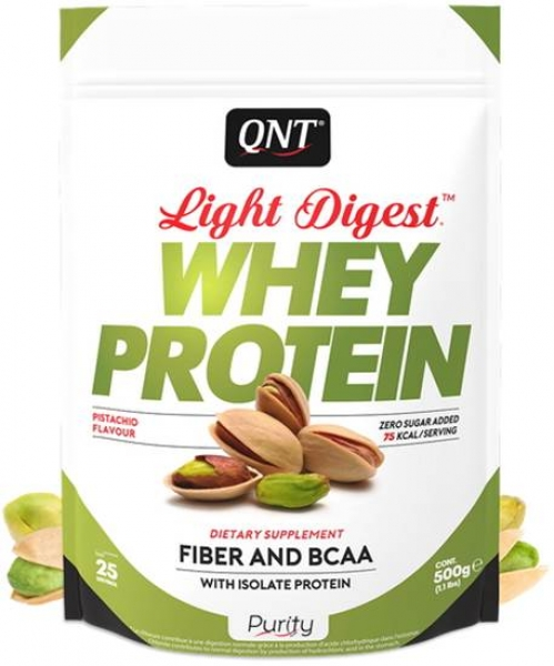 QNT Light Digest Whey Protein Pulver Pistazie kaufen bei Body World Fitness Shop Basel