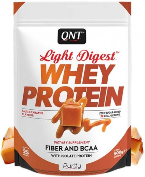 QNT Light Digest Whey Protein Pulver Caramel kaufen bei Body World Fitness Shop Basel