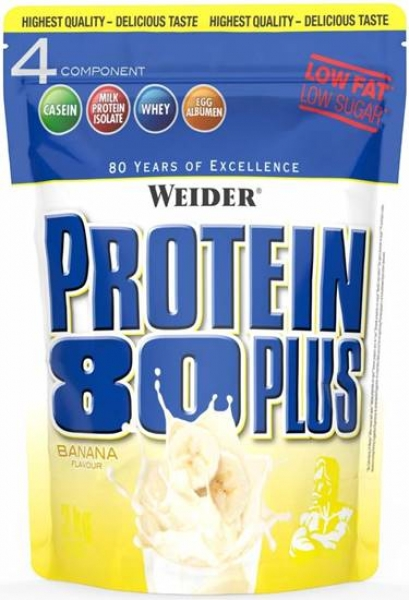 Weider Protein 80 Plus 500g Banane bei Body World Fitness Shop Basel kaufen